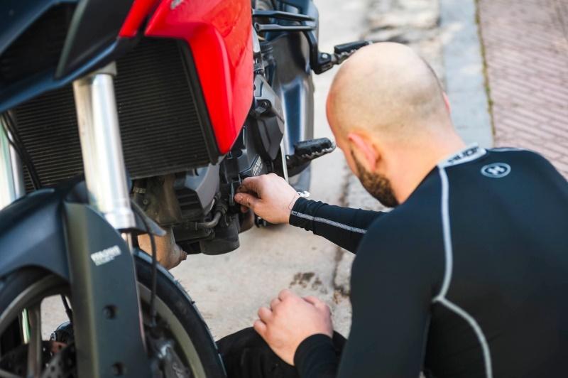 проверить катушку на мотоцикле