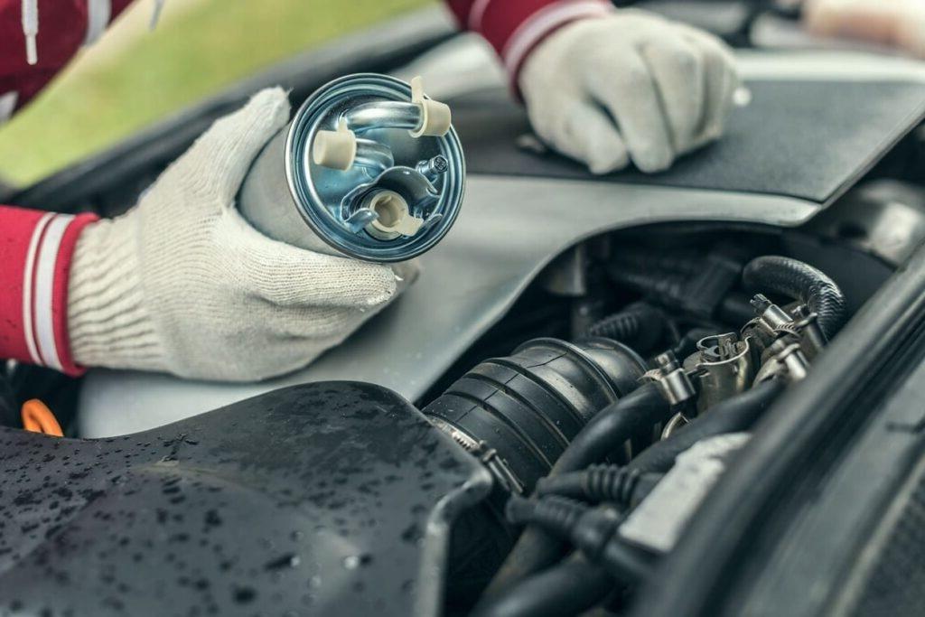 топливные фильтры двигателя