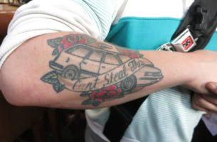 автомобильные татуировки